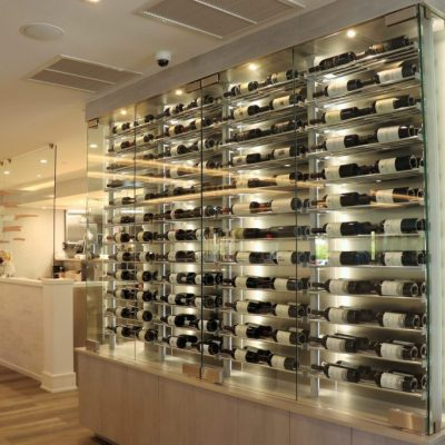 EXTENSIVE WINE SELECTION